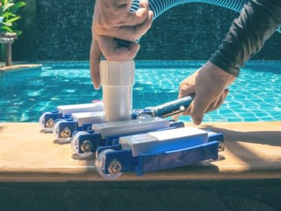 plano pool filter cleaning